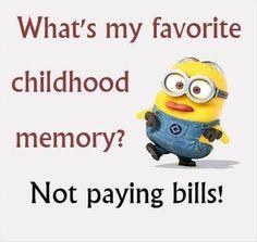Best childhood memory