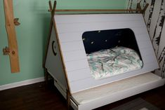 Toddler Tent Trundle Bed (Twin) Woodworking Guide, Custom Woodworking, Teds Woodworking, Carpentry Projects, Woodworking Projects Plans, Wooden Furniture, Furniture Plans, Toddler Tent, Twin