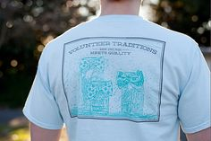 Volunteer Traditions | Tennessee bow tie pocket tee $30