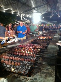 Carne de Espeto (BBQ meat) Portuguese BBQ Feast 2013