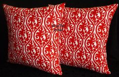 Accent Pillows Throw Pillows Pillow Covers  Lipstick by berly731, $32.00