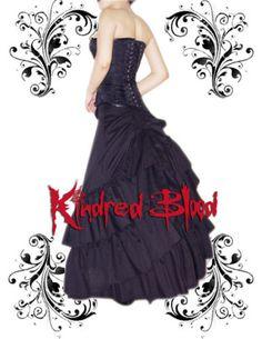 Ah my black wedding dress that was vetoed!