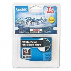http://pigselectronics.com/brother-tze345-07-white-on-black-tape-for-ptouch-26239brothertze345bgd1985-p-3224.html