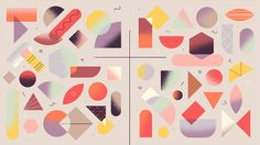 Homework - 1. Defining Motion Design | Learn Squared Maps Design, Web Design, John Piper, Illustrations, Flat Illustration, Design Thinking, Grafik Design, Motion Design, Abstract Shapes