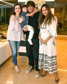 Photos: Shah Rukh Khan, AbRam, Nita Ambani at Gauri Khan's store