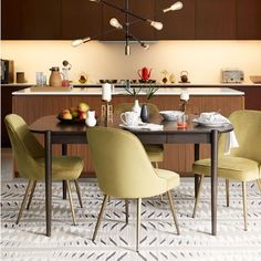 Ellipse Expandable Dining Table