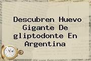 http://tecnoautos.com/wp-content/uploads/imagenes/tendencias/thumbs/descubren-huevo-gigante-de-gliptodonte-en-argentina.jpg gliptodonte. Descubren huevo gigante de gliptodonte en Argentina, Enlaces, Imágenes, Videos y Tweets - http://tecnoautos.com/actualidad/gliptodonte-descubren-huevo-gigante-de-gliptodonte-en-argentina/
