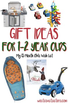 A thorough list of Holiday Gift Ideas for those busy 6 - 12 month ...