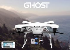 Ghost Drone GoPro Camera And Smartphone Controlled Quadcopter (video)