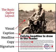Easy Steps to Create a Pro Design for Your Ad  Basic Ogilvy Ad Layout Ad 6de69f48d4