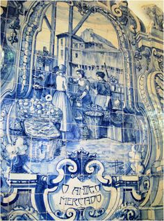 Nesta hora: Azulejos do Mercado do Livramento, em Setúbal (VII)