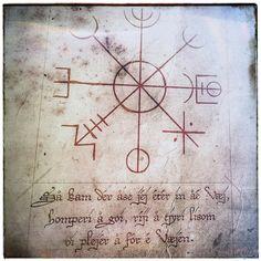 Staves to ensure safe travels #galdrastafir #pagan #paganism #heathen #asatru #vikings #magick #stavsigil #sigils #sigil #seidr #galdra #galder #galdur #bindrune #bindrunes #ræveðis #lønruner #witchcraft #galdr #occult #wicca
