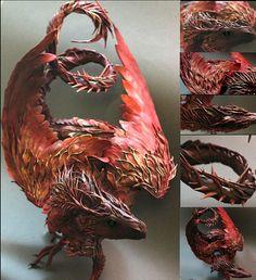 ドラゴンや羽の生えたネコなど幻想的な雰囲気の立体造形「Creatures From El」 - GIGAZINE