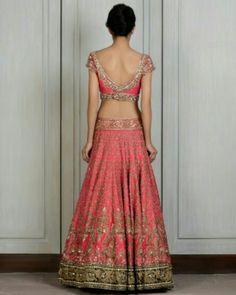 Manish Malhotra bridal lehnga