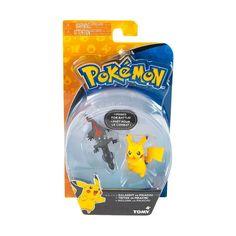 Pokemon Posed for battle Figures by TOMY, Pikachu Vs Salandit Pikachu, Pokemon Plush, Tomy Toys, Pokemon Collection, Anime Figurines, Action Poses, Book Of Shadows, Pokemon Cards, Pet Toys