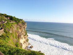 The edge of Bali island is surrounded by Ocean Pacific #Baliisland Bali, Ocean, Island, Water, Travel, Outdoor, Gripe Water, Outdoors, Viajes