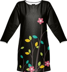 Floral swing dress by Annabellerockz from Print All Over Me
