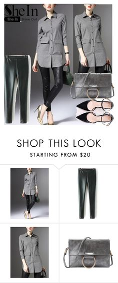 """""""1/5#SheIn"""" by fatimka-becirovic ❤ liked on Polyvore"""