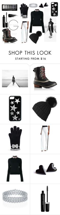 """""""Tame Winter with SOREL: Contest Entry"""" by majalina123 ❤ liked on Polyvore featuring SOREL, Black, Michael Kors, Marni, Marc Jacobs, Urban Decay and sorelstyle"""