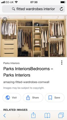 Fitted Wardrobe Interiors, Fitted Wardrobes, Fitness, Image, Built In Cabinets, Wall Cupboards, Excercise, Health Fitness, Rogue Fitness