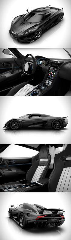 Koenigsegg Carbon Fiber Regera Hyperca #koenigsegg Carbon Fiber Regera Hypercar
