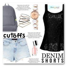 """The Final Cut: Denim Shorts"" by angelstar92 ❤ liked on Polyvore featuring Alexander Wang, ASOS, Topshop, jeanshorts, BangGood, denimshorts and cutoffs"