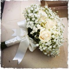 Gyp and spray rose bouquet