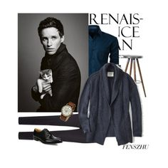 Eddie❤️ by fenofstyle on Polyvore featuring polyvore, LE3NO, Z Zegna, Church's, Timex, men's fashion, menswear and clothing