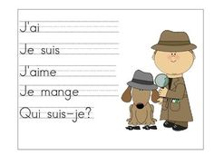 French Story Writing Stem Posters Teaching Schools, Teaching Tips, Detective, Daily 5 Writing, Core French, French Classroom, Primary Resources, Science Curriculum, French Immersion