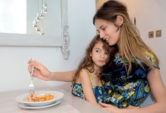 Bianca Balti and daughter Matilde by Martin Parr for Grey S/S 13
