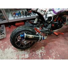 Honda Grom MSX125 SF NamBam Low Mount Exhaust