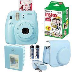 Fujifilm Instax Mini 8 Instant Film Camera Blue + With Fu... http://www.amazon.com/dp/B01ACC63GA/ref=cm_sw_r_pi_dp_7aNoxb0WSZQT6