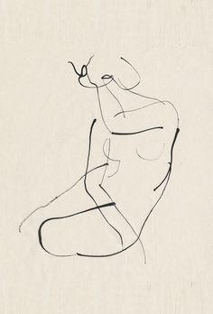 figure line drawing