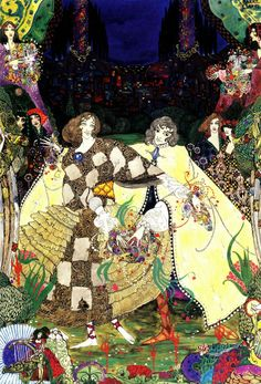 The Garden of Paradise  Harry Clarke, Fairy Tales By Hans Christian Andersen