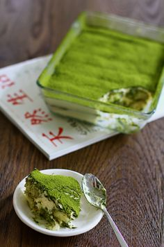 How much matcha tea per day can you drink? How much matcha is too much? Asian Desserts, Asian Recipes, Sweet Recipes, Healthy Recipes, Green Tea Dessert, Matcha Dessert, Delicious Desserts, Yummy Food, Green Tea Recipes