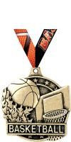 "2"" Basketball Medals"