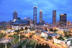 """#Atlanta is no. 1 on CNNMoney's list of """"The Top 10 Cities People Are Moving To!"""""""