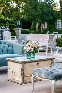 Casa para Casar na praia: Lounge - Uma sala de estar no casamento