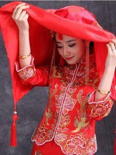 古代新娘結婚時,為什麼要蓋紅蓋頭? - 每日頭條 Red Leather, Leather Jacket, Live, Jackets, Fashion, Studded Leather Jacket, Down Jackets, Moda, Leather Jackets