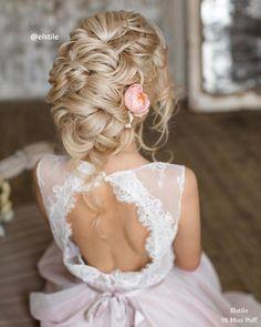 Wedding Hairstyles : 100 Wow-Worthy Long Wedding Hairstyles from Elstile | Hi Miss Puff  Part 27