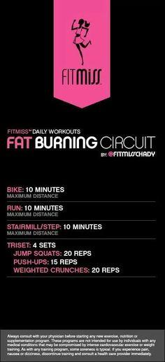 Fat burning circuit