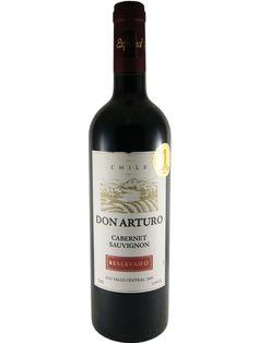 Don Arturo Cabernet Sauvignon 2009 (Valle Central, Chile): Excelente vinho tinto chileno com preço de mercado brasileiro bem barato. Para acompanhar carnes assadas, grelhadas ou ensopadas é um dos meus favoritos!