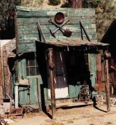 Silver City, California .. a ghost town from the gold rush