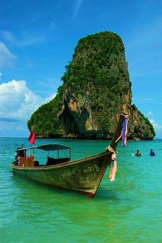 Visit Krabi as part of your Southern Thailand Phuket Vacation. Places Around The World, Oh The Places You'll Go, Places To Travel, Travel Destinations, Places To Visit, Around The Worlds, Laos, Thailand Travel, Krabi Thailand