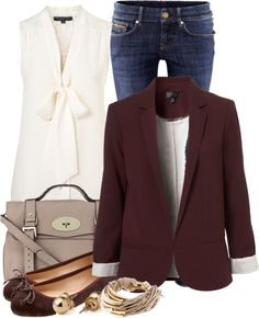 """blazer and jeans contest"" by lilly517 ❤ liked on Polyvore"
