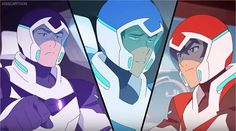 """Lance to Keith-""""Like a cheerleader pyramid?"""" from Voltron Legendary Defender"""