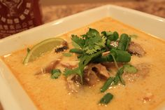 Weekly Paleo Fave: Thai  Lemongrass Coconut Spicy Soup