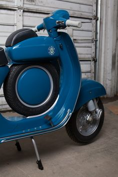 The Vespa is much sought after by collectors due to its extreme rarity, just over 5000 were made between 1965 and and most of these have been Final Drive, Aftermarket Parts, Vespa Scooters, Popular Mechanics, New Tyres, Seat Covers, Motorbikes, Rarity, Ss
