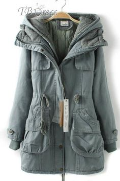 Tbdress.com offers high quality Soft Japanese Style Cotton Lace Hooded Double-Deck Overcoat Overcoats unit price of $ 75.39.