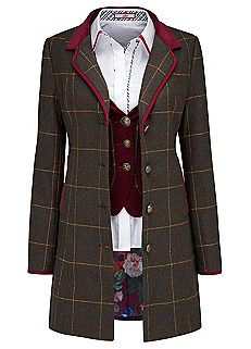 Joe Browns Royal Heritage Longline Coat